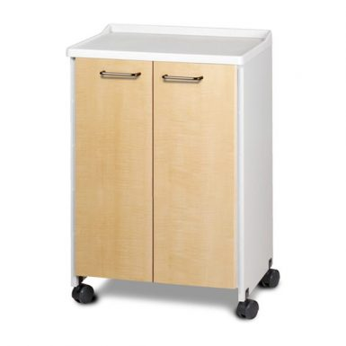 Mobile Equipment Cabinet Molded Top